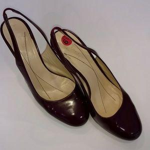 Kate Spade Patent Sling Back Heels